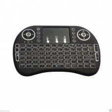 Mini i8 2.4GHz Backlit Wireless Keyboard Black